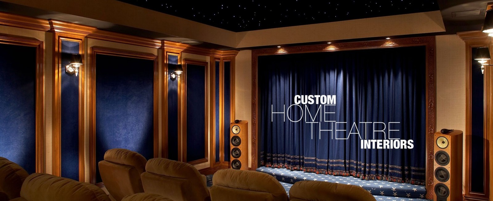 Custom Theatres AcousticSmart - Custom home interior design